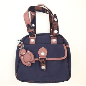 "Kipling ""Coco"" Minibag Navy/Leather"